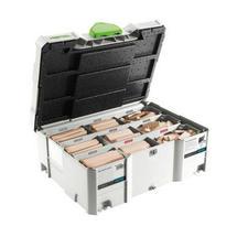 Systainer DominoXL frézy + kolíky 8 a 10mm