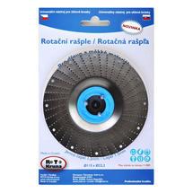 Rašple rotační lehká 115mm - 1,5mm