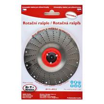 Rašple rotační lehká 115mm - 2,0mm