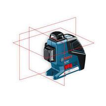 Laser křížový GLL 3-80 + držák a přijímač
