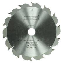Pilový kotouč 160x20 z14 x2,5mm Gladiator