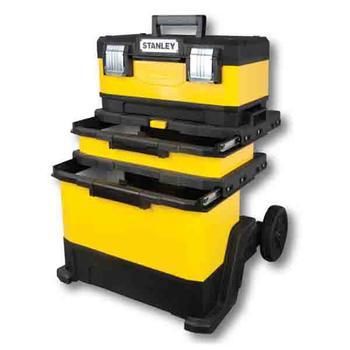 Kufr pojízdný kov-plast 4d rozkládací  - 1