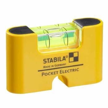 Vodováha Pocket Elektric clip  - 1