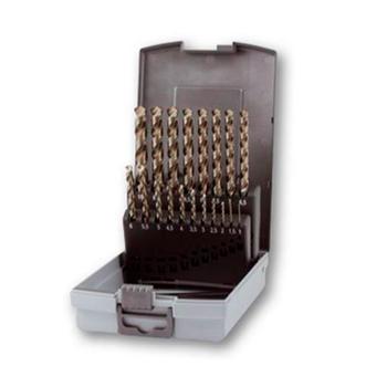 Sada vrtáků 1-10mm po 0,5mm HSS-G 19d Co5 stopka 3hr