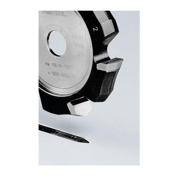 Drážkovací fréza ve tvaru V HW 148x18-135°/Alu