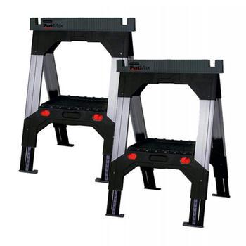 Kozy stavební hliníkové 2ks  - 1