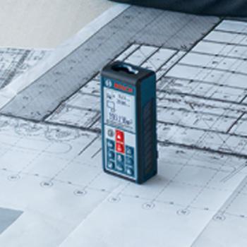 Laserový dálkoměr GLM 100C Bosch  - 1