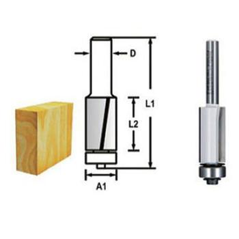 Drážkovací fréza - 2 břity s ložiskem 12,7x26 s8