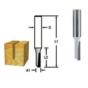 Drážkovací fréza - 1 břit 3x13 s8