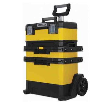 Kufr pojízdný kov-plast 4d rozkládací  - 2