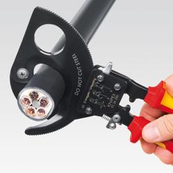 Kleště na kabely do 32mm VDE  - 2