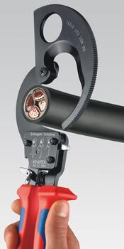Kleště na kabely do 52mm PVC  - 2