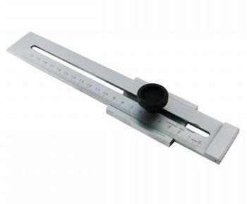 Přípravek rýsovací se stupnicí 200mm inox  - 2