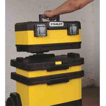 Kufr pojízdný kov-plast 4d rozkládací  - 3