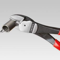 Kleště štípací boční 180mm silové PVC  - 3