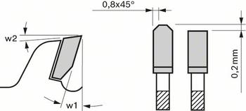 Pilový kotouč 300x30 z96 x3,2mm Expert for Laminated Panel  - 3