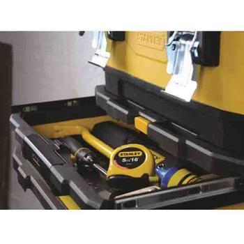 Kufr pojízdný kov-plast 4d rozkládací  - 4