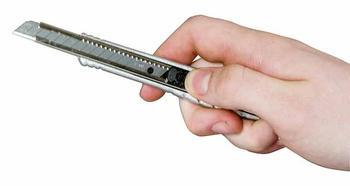Nůž s ulamovací čepelí 9mm kovový FatMax  - 4