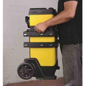 Kufr pojízdný kov-plast 4d rozkládací  - 5
