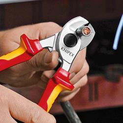 Kleště na kabely do 15mm Cr/VDE  - 5