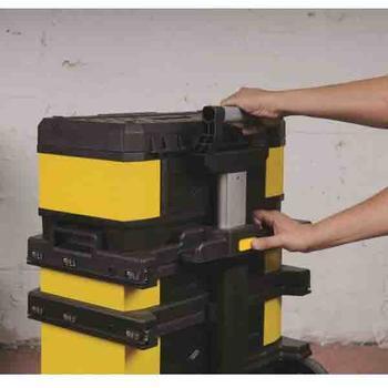 Kufr pojízdný kov-plast 4d rozkládací  - 6