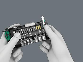 """Sada dříků 1/4"""" Tool-Check 39d  - 7"""