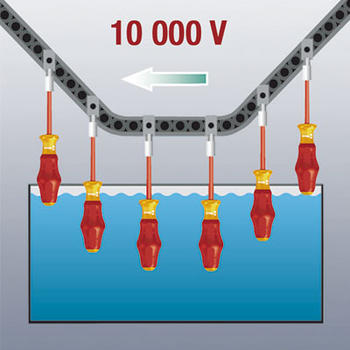 Šroubovák Ph 0 x80 1000V  - 7